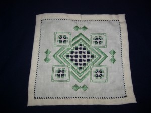 Hardanger Embroidery - Free Cross Stitch Patterns and Lessons